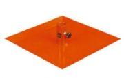 Deska pro nivelační lať na lité podlahy