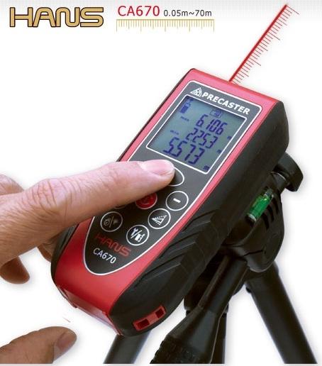 Profesionální laserový dálkoměr HANS CA670