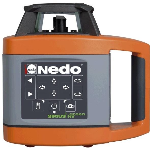 Rotační laser SIRIUS HV GREEN - NEDO