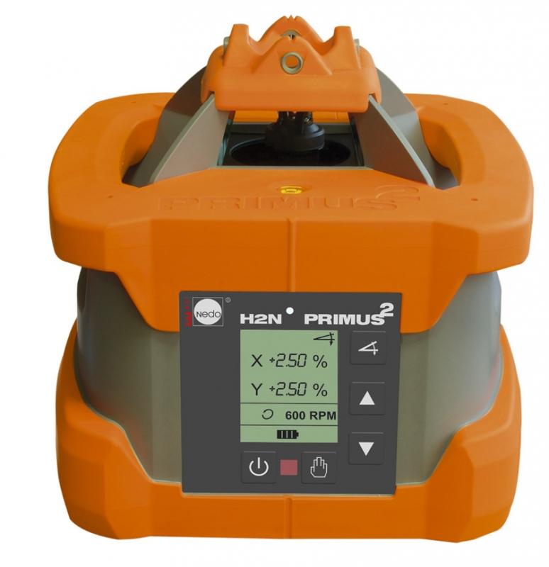 Rotační laser s možností náklonu NEDO Primus H2N